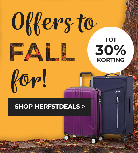 Offers to FALL for - tot 30% korting - Shop Herfstdeals - American Tourister