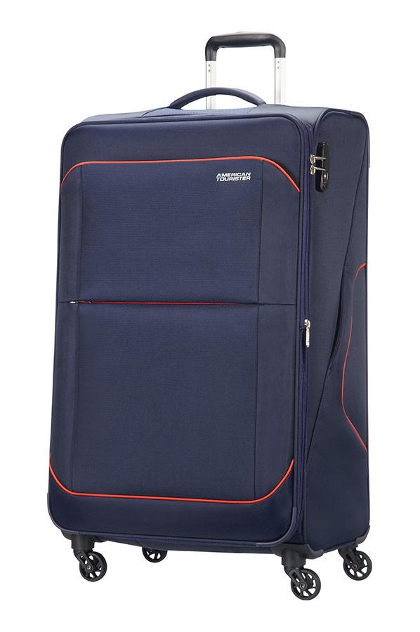 sunbeam large koffer met 4 wielen uitbreidbaar 79cm nordic blue. Black Bedroom Furniture Sets. Home Design Ideas