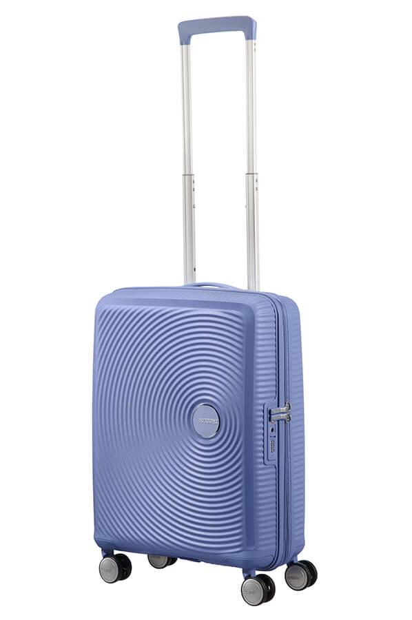 Valise cabine rigide American Tourister Soundbox 55 cm Summer Blue bleu myy5i