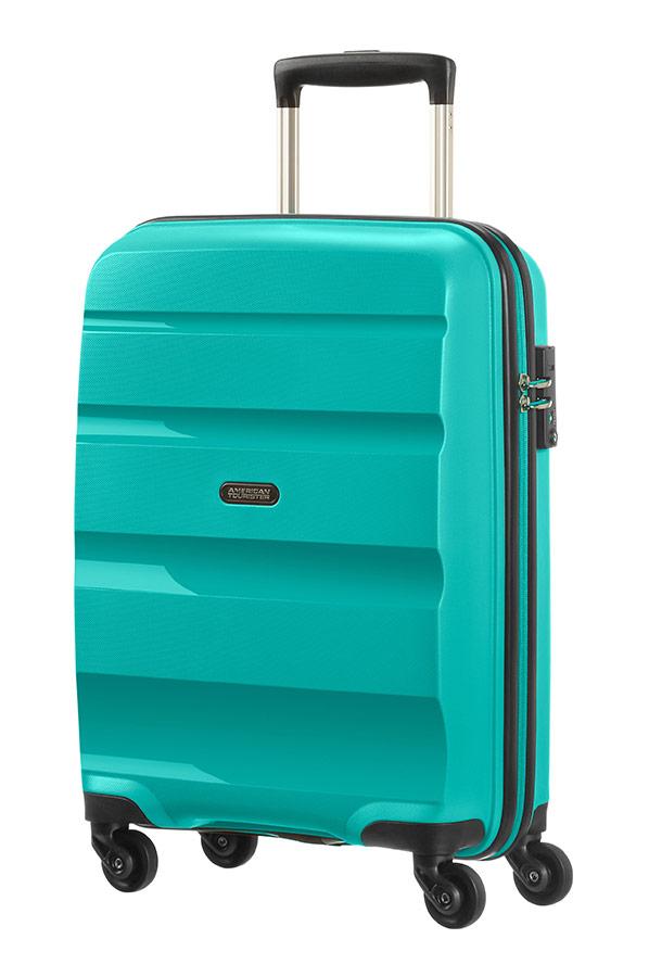 Valise cabine American Tourister Bon Air 55 cm Deep Turquoise bleu VzZ67XVU